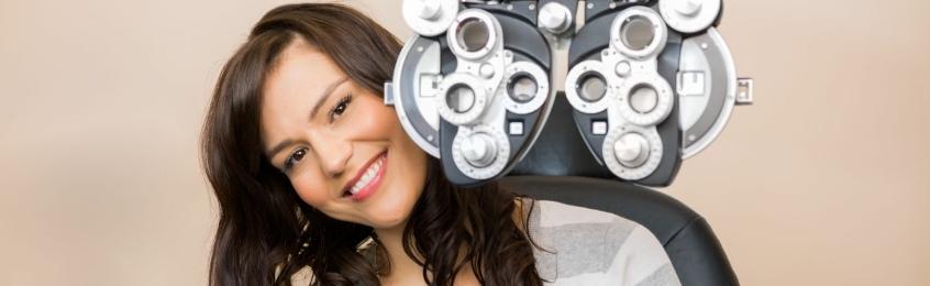 Pptions Optometrist eye tests