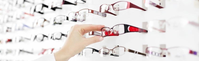 Options Optometrist spectacles frames